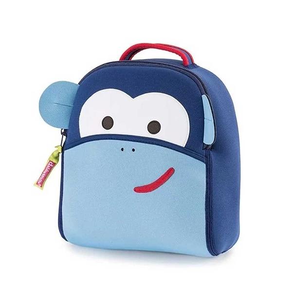 防走失後背包 1-4歲 學走寶寶推薦 微笑藍猴子 (嬰幼兒/兒童/小孩/小朋友/孩童)