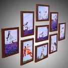 現代簡約照片墻相框墻客廳相框掛墻創意組合臥室裝飾相片墻畫框
