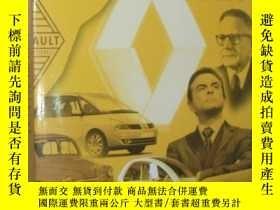 二手書博民逛書店法語原版書罕見Renault, le culte du défi