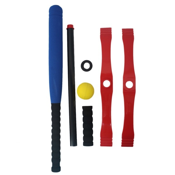 兒童專用 樂樂棒球套裝組 娛樂級(明盒)/一組入(定399) 樂樂棒球 安全棒球 棒球練習器-群