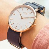 【心動體驗價75折up!!】Cupid Memory 邱比特 簡約海軍藍時尚腕錶 40mm 女錶 CPW0101GRSX-ST20-0101RG-NY 熱賣中!