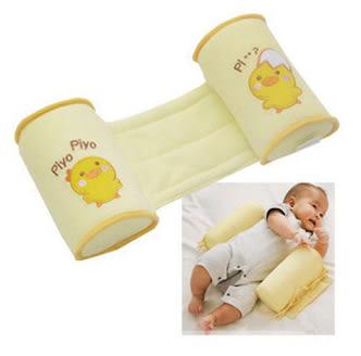 嬰兒防側翻定型枕