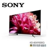 入內特價~SONY 新力【KD-85X9500G】日製85吋4K HDR連網智慧電視.X1旗艦版.支援Google Play.youtube.螢幕鏡射