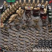 軍事人仔3積木小人偶警察特種兵6兒童益智拼裝8-10歲男孩玩具  (橙子精品)