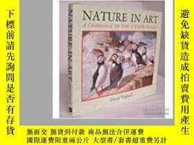 二手書博民逛書店Nature罕見in Art: A Celebration of