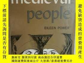 二手書博民逛書店Eileen罕見Power : Medieval People
