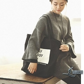 帆布包女包側背小清新休閒學生大容量手提袋【邻家小鎮】