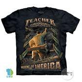 【摩達客】(預購)美國進口The Mountain 美國男教師 純棉環保短袖T恤(YTM104174885117)