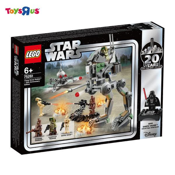 LEGO樂高 星際大戰 系列 75261 Clone Scout Walker™ – 20th Anniversary Edition 積木 玩具