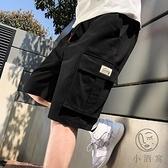 大碼 短褲男夏季寬鬆五分工裝外穿薄款休閒褲潮牌【小酒窩】