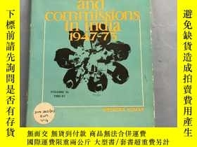 二手書博民逛書店committees罕見and commissions in india1947-73 Volume 1V:196