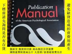 二手書博民逛書店Publication罕見Manual of the Ameri