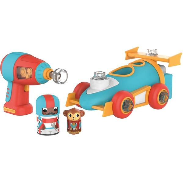 【 美國 Educational Insights 】 兒童益智桌遊 Design & Drill 方程式賽車 / JOYBUS玩具百貨