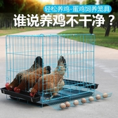 籠子 雞籠子養雞籠家用小號蛋雞籠鵪鶉養殖籠自動滾蛋折疊雞籠子雞舍【快速出貨】