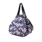 【Shupatto】 輕巧秒收環保袋(M/櫻花) 2019新款 折疊收納 大容量 環保袋 購物袋  日本MARNA
