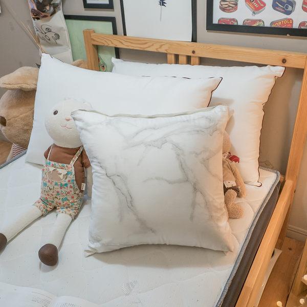 純棉 方抱枕 45cmx45cm 精選素材 100%復古純棉 多款可選  台灣製造 棉床本舖