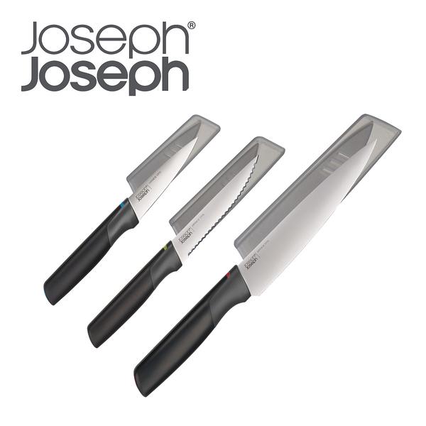 【Joseph Joseph】不沾桌不鏽鋼刀具3件組