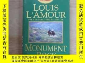 二手書博民逛書店英文書;罕見LOUIS L AMOUR MONUMENT ROC