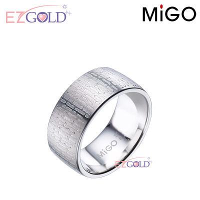 MiGO鋼飾♥情書♥鋼飾戒指(女)