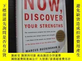 二手書博民逛書店Now,Discover罕見your strengths 布脊精