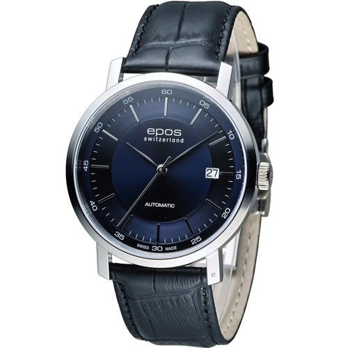 EPOS Originale 原創系列 英倫都會紳士機械錶 3387.152.20.15.30