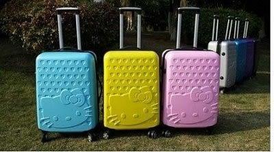 24吋  Hello Kitty拉桿箱可愛旅行箱萬向輪密碼登機箱