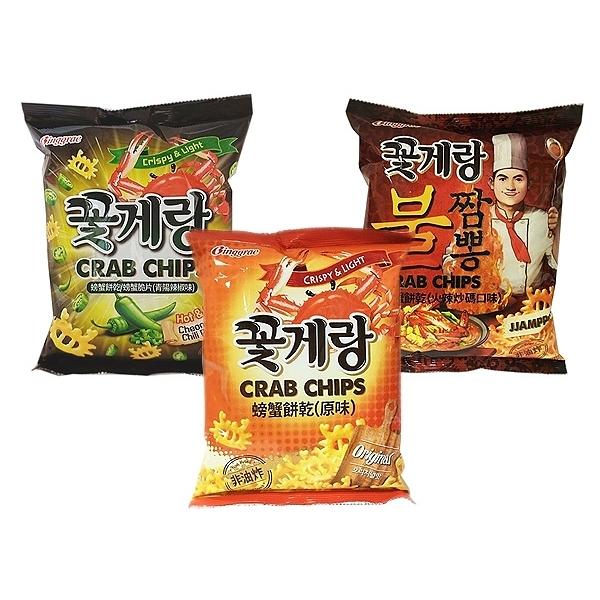 Binggrae 螃蟹餅乾(70g) 款式可選【小三美日】