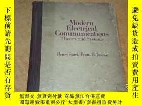 二手書博民逛書店Modern罕見Electrical Communication