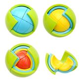 迷宮 益智球3D智力球迷宮玩具兒童立體三維空間創意益智拼圖DIY拼裝-凡屋