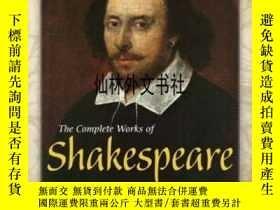二手書博民逛書店【罕見】The Complete Works Of Shakes