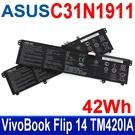 ASUS C31N1911 原廠電池 TP412UA TP420IA TP470EA TP470EZ S4600FA R428FF S433FA V4050FA V4050FF V433FA