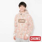 CHUMS 日本 男 LOGO 連帽套頭衫 帽T 幾何Booby CH001085Z051