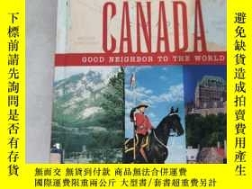 二手書博民逛書店Canada,罕見Good Neighbor to the World by Bryant, AdamY141