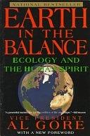 二手書博民逛書店 《Earth in the Balance: Ecology and the Human Spirit》 R2Y ISBN:0452269350│Prentice Hall