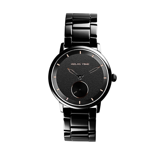 【Relax Time】Floating漂浮系列現代簡約時尚腕錶-質感黑/RT-83-3/台灣總代理公司貨享一年保固