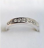 極簡造型鑲鑽戒指(2色)(#6號戒圍)    情人節禮物【Vogues唯格思】D062