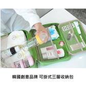 【易奇寶】韓國創意品牌 RSD多功能防水旅行收納包 綠色 (大號) 化妝包