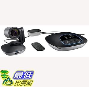 [7美國直購] Logitech Group HD Video and Audio Conferencing System for Big Meeting  B01B4SNM92