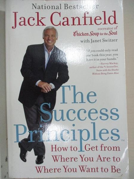 【書寶二手書T1/心理_EHJ】The Success Principles: How to Get from Where You Are…
