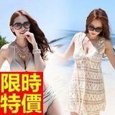 泳衣(三件式)-比基尼-音樂祭沙灘衝浪必備聚攏顯瘦54g87[時尚巴黎]