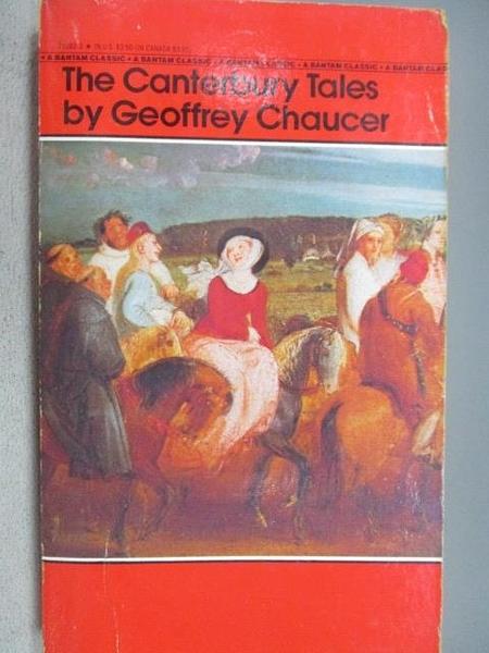 【書寶二手書T3/原文小說_MLT】The Canterbury Tales_Geoffrey Chaucer