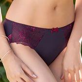 【曼黛瑪璉】Hibra大波 低腰寬邊三角萊克褲(皇冠紫)(未滿2件恕無法出貨,退貨需整筆退)