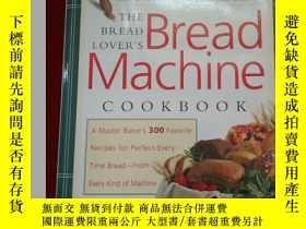 二手書博民逛書店Bread罕見Machine COOKBOOK 16開Y2338