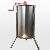 養蜜蜂工具蜂旺搖蜜機304全不銹鋼蜜桶加厚帶腿打密糖自動分離機