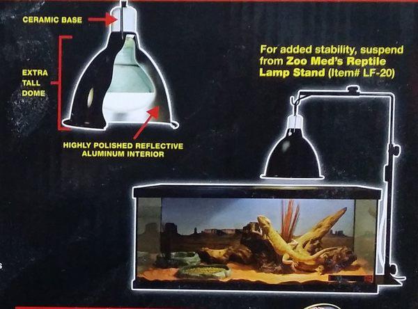 【西高地水族坊】ZOO MED(ZOOMED) 加長型陶瓷夾燈
