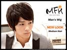 MFH韓系造型假髮◆金汎旁分氣質假髮【M040028】*韓國髮型/男假髮/男款假髮/新年髮型