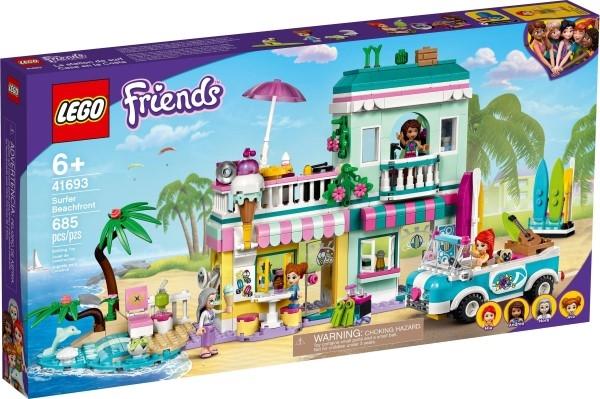 樂高LEGO FRIENDS 衝浪海濱 41693 TOYeGO 玩具e哥