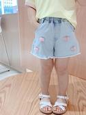 女童褲子夏季2020新款女孩牛仔短褲外穿薄款洋氣女寶寶夏裝韓版潮 貝芙莉