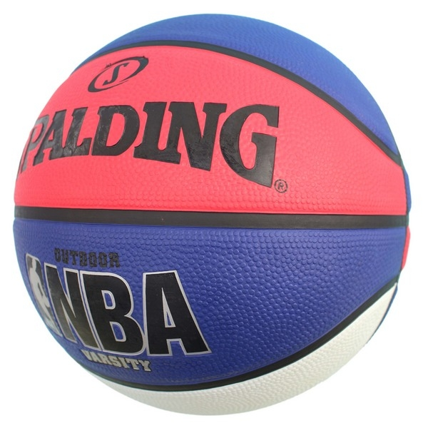 SPALDING 斯伯丁 7號 三色籃球(白/藍/紅)/一個入(特590) SPA83275 Varsity系列斯伯丁籃球 NBA籃球-群