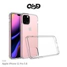 【愛瘋潮】QinD  Apple iPhone 11 Pro (5.8吋)  雙料保護套 透明殼 硬殼 背蓋式